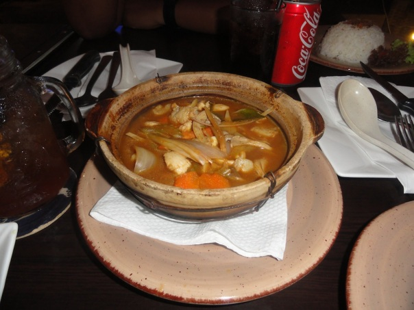Bowl of Tom Yam